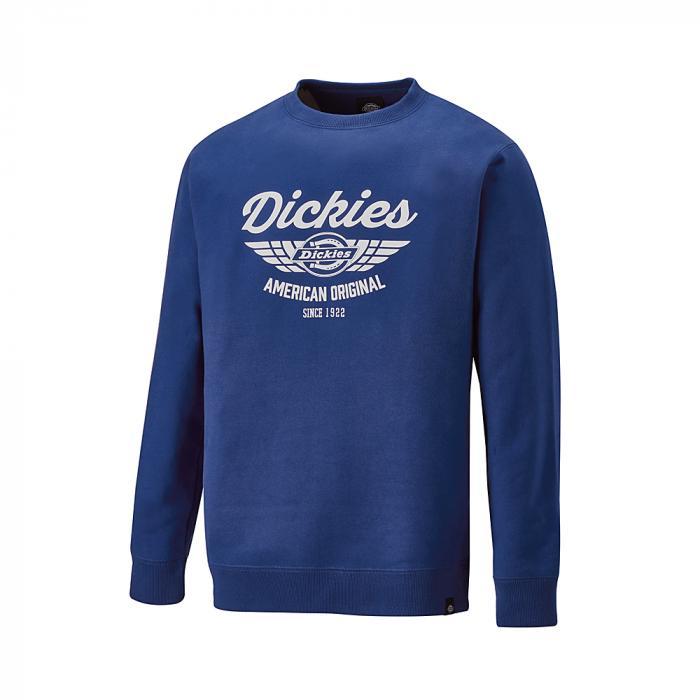 Everett sweatshirt - Dickies - Storlekar S till 4XL - kungblå