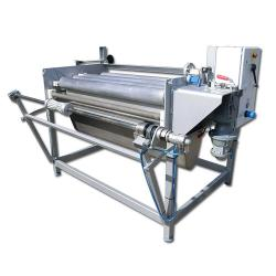 Fiberglass-impregnating system- for roll widths up to 1300 mm