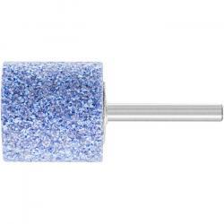 Schleifstift - PFERD - Schaft-Ø 6 x 40 mm - Härte J - Zylinderform - für Titan etc. - Bezeichnung ZY 3232 6 AWCO 24 J 5 V - D x T 32 x 32 mm - Korngröße 24