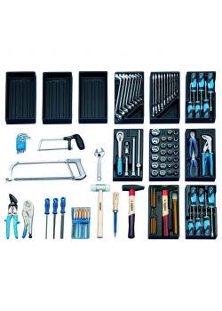 Universal verktygssats - metrisk - i 1500 ES-moduler - 100 st