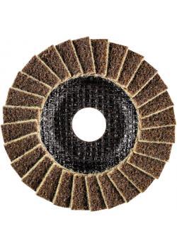 Fächerscheiben PVL- PFERD POLIVLIES® - Durchmesser 115 bis 125 mm - Breite 18 mm - Korngröße 100 bis 240 - VE 5 Stück - Preis per VE