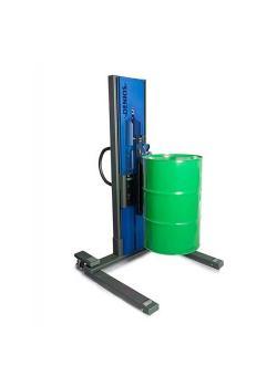 Sollevatore fusti Secu Drive tipo M - telaio largo - sollevamento elettrico - per fusti in acciaio da 60 e 200 litri
