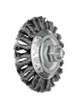 Kegelbürste - PFERD COMBITWIST® - mit Gewinde, gezopft - mit Stahldraht - VE 5 Stück - Preis per VE