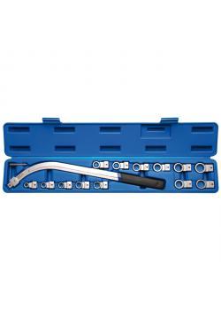 Idlers Wrench Set - E-profil - SW E10-E18 och 12-punkts SW 12 mm-19 mm