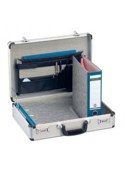Aktenkoffer AluPlus Business 19 - mit Zahlenschloss - Außenmaße (B x T x H) 475 x 360 x 140 mm