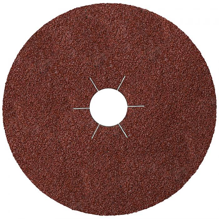 Fiberscheibe FS 764 - Durchmesser 115 bis 180 mm - Loch 22 mm - Korn 24 bis 120 - Sternloch