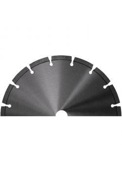 Diamantscheibe - segmentiert - Segmenthöhe 7 mm bis 10 mm