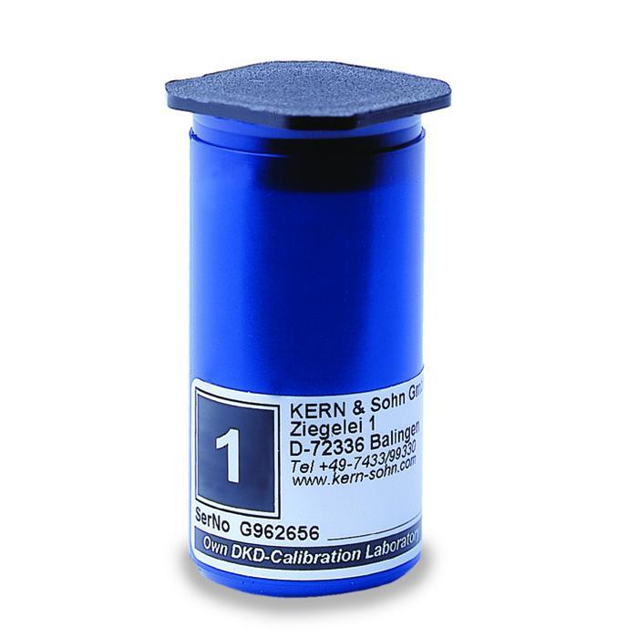 Case - vægtklasse F 1 til M 1 - individuelle vægte af 1 g op til 10 kg - plast