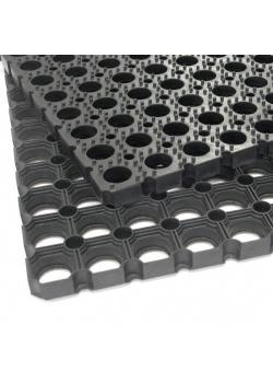 "Ring rubber mat ""Scriper"" - 22mm thickness - for outdoor use"