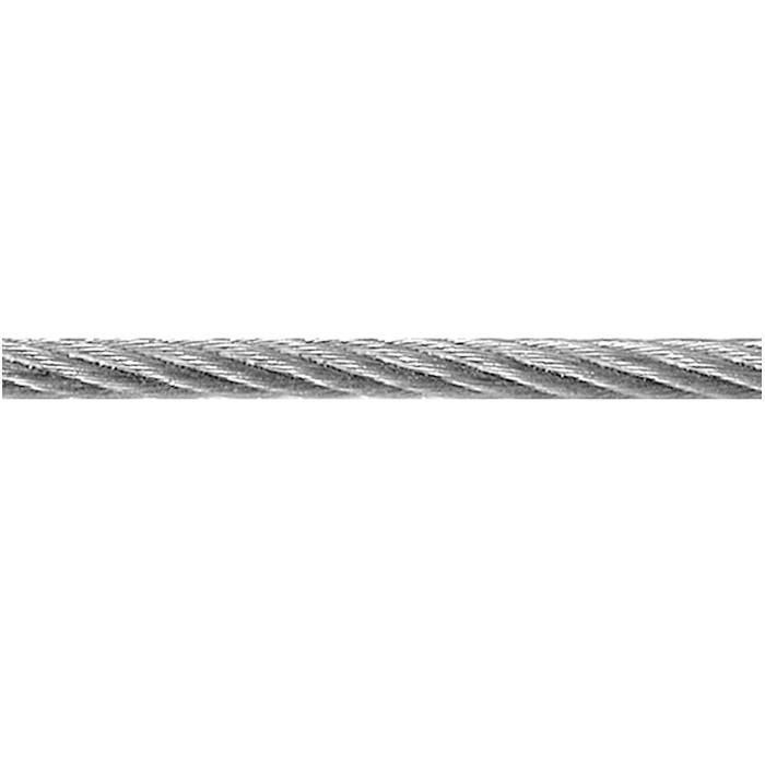 Stahldrahtseil - Edelstahl (V2A) - Ø 1 mm bis 4 mm - auf Spule - Preis per Rolle