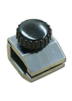 Klemme - mit Schnellverschluss - max. Belastung 500 N - VE 2 Stück