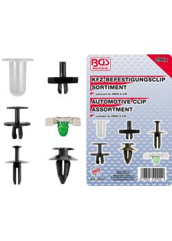Car clip range - for BMW and VW - 290 pcs.
