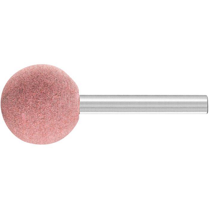 Schleifstift - PFERD Poliflex® - Schaft-Ø 6 mm - Kugelform - für Stahl, Edelstahl, Buntmetall - VE 5 und 10 Stück - Preis per VE
