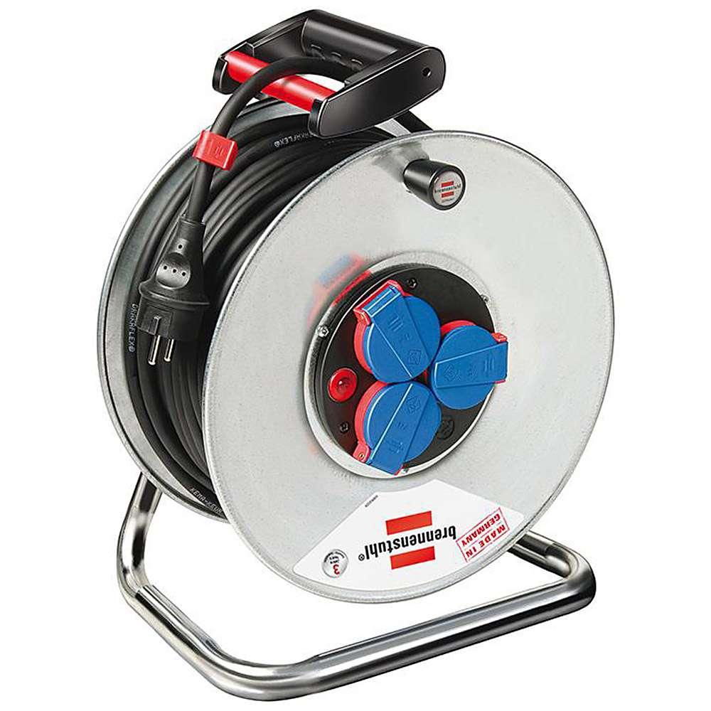 Garant® S IP 44 Kabeltrommel - 25-40 m Kabel - Gummi-Neopren