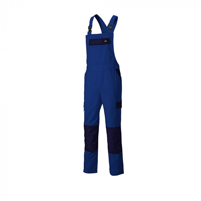 Latzhose Everyday - Dickies - Größe 44 bis 62 - königsblau/marineblau