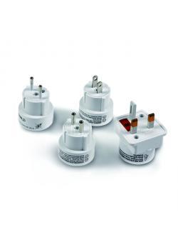 Adapter-Set für Netzteile - mit EU-, GB- und US-Stecker