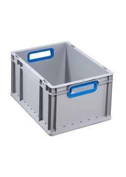 Eurobehälter ProfiPlus EuroBox 422 - mit offenen Griffe - Außenmaße (B x T x H) 400 x 300 x 220 mm