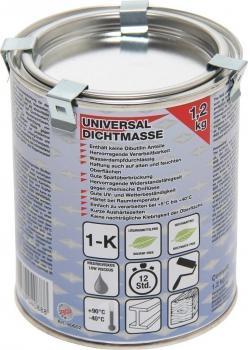Universal tätningsmedel - vattenånga genomträngliga - 1,2 kg Dos