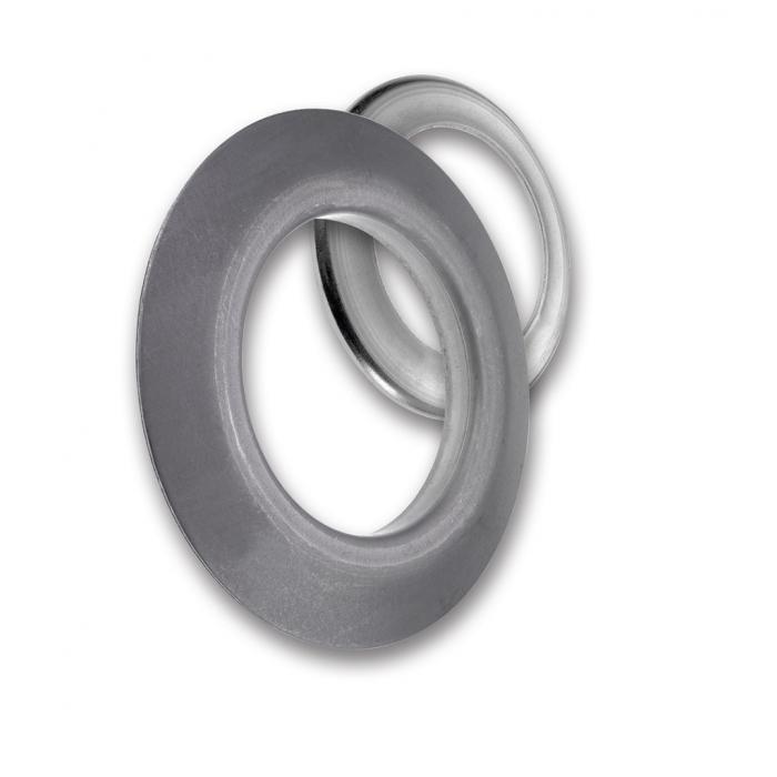 Stahl-Spurkranz - für Tragrollen - Kranz-Ø 50 bis 88,9 mm