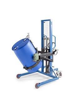 Fasslifter Servo FW-DX - Stahl lackiert - mit Drehkurbel - für 200 und 220-l-Stahl- und Kunststofffässer
