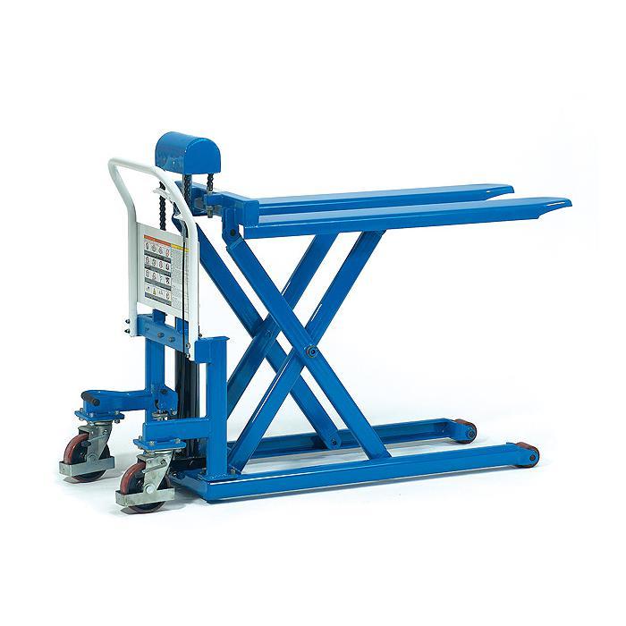 Scissor carrelli elevatori - volanti in poliuretano - rulli forche in nylon