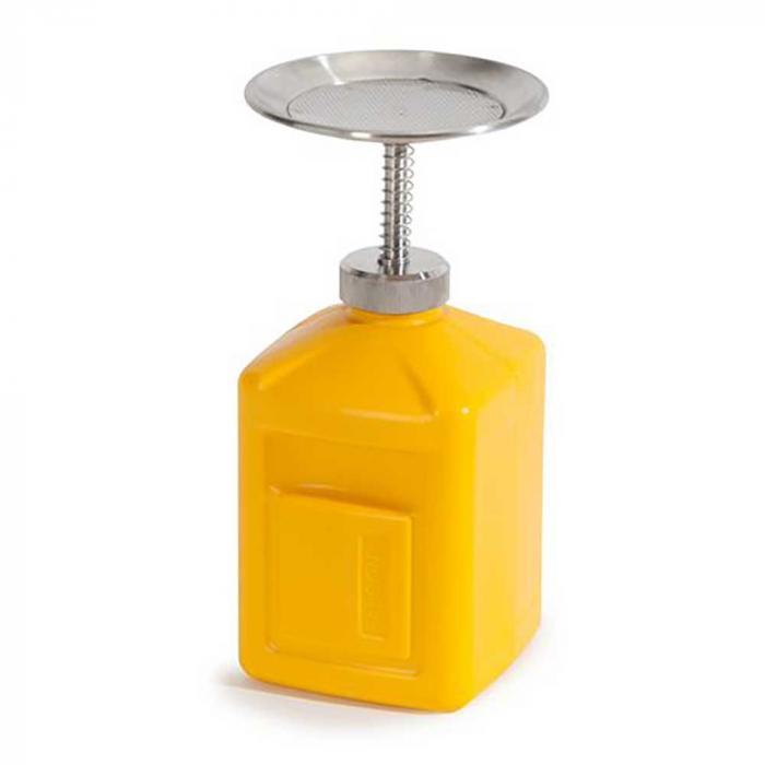 Boîte grillagée FALCON - polyéthylène (PE) - volume 1 ou 2 litres - jaune - différentes versions