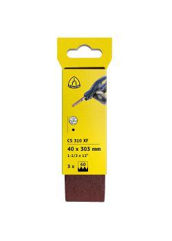 Feilenband CS 310 XF - Breite 13 mm - Länge 457 mm - Korn 40 bis 120 - Korund - VE 18 Stück - Preis per VE