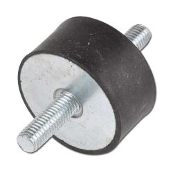 Anti-Vibration Buffer With Bilateral Threaded Pin