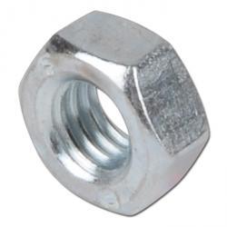 Sechskantmutter - Stahl 8 verzinkt oder Edelstahl A2 - DIN 934 / ISO 4032