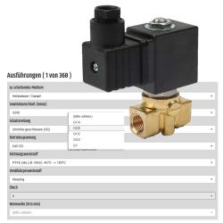Configurator solenoid valve