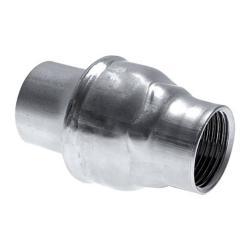 """Backventil - rostfritt stål - gänga G 1/4"""" till 4"""" - PN 16"""